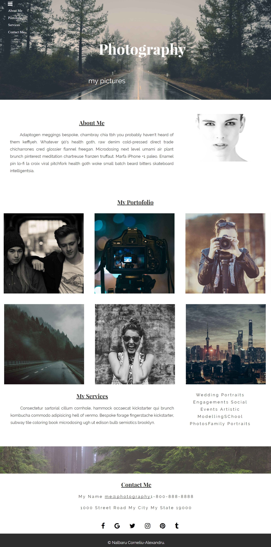 Pretty Html5 Css3 Responsive Templates Photos - Professional Resume ...
