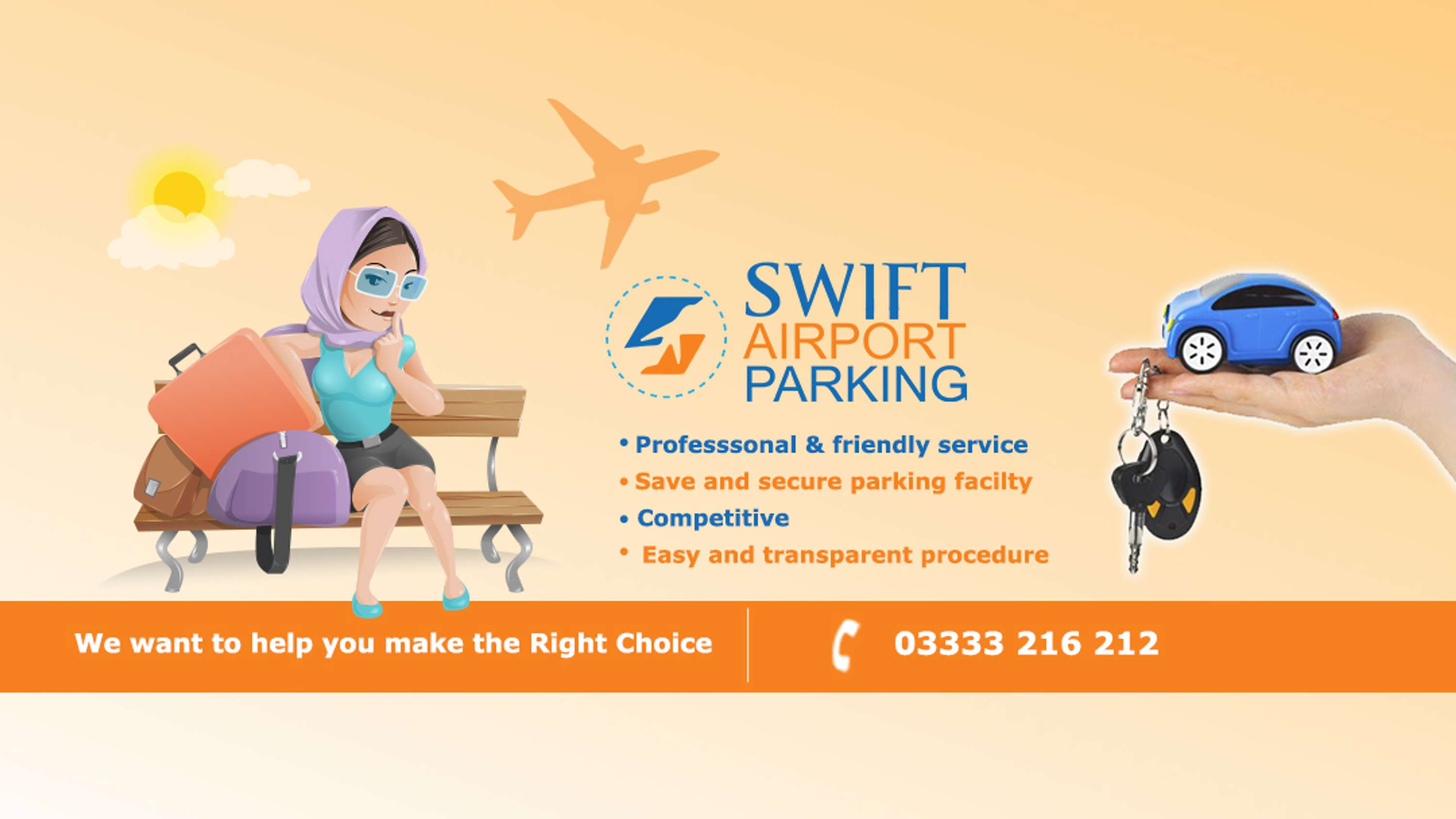 Swift airport parking uk the dots a reliable car parking website offering cheapest meet and greet deals at london luton airport kristyandbryce Gallery