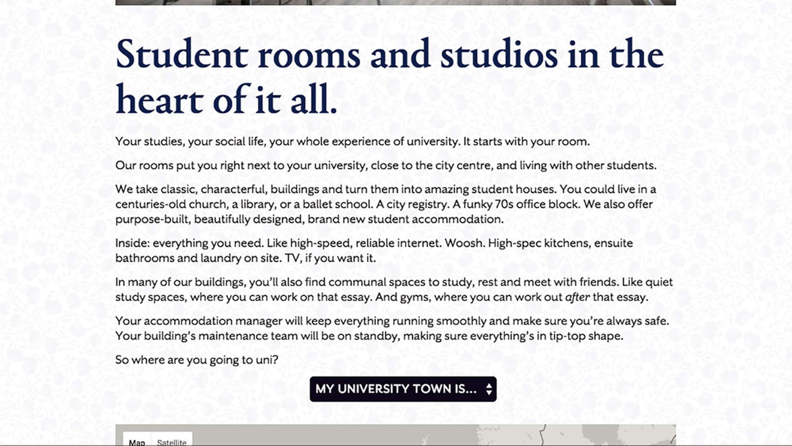 hello student branding the dots we worked someone to brand new student accommodation business hello student
